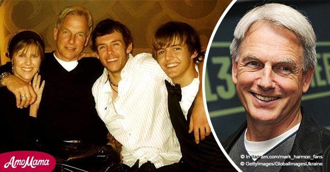 Le plus jeune fils de Mark Harmon a bien grandi et il est le portrait craché de l'acteur
