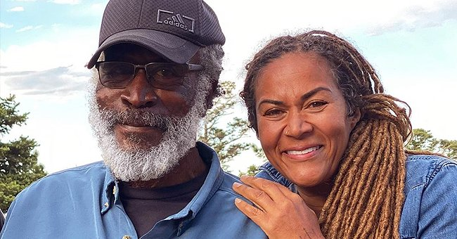 John Amos' Daughter Shannon Turns up the Heat in Low-Cut Swimsuit — See the Stunning Snaps