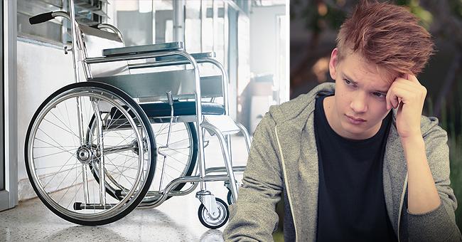 Le fauteuil roulant d'un enfant de 12 ans, myopathe, a été volé durant sa baignade
