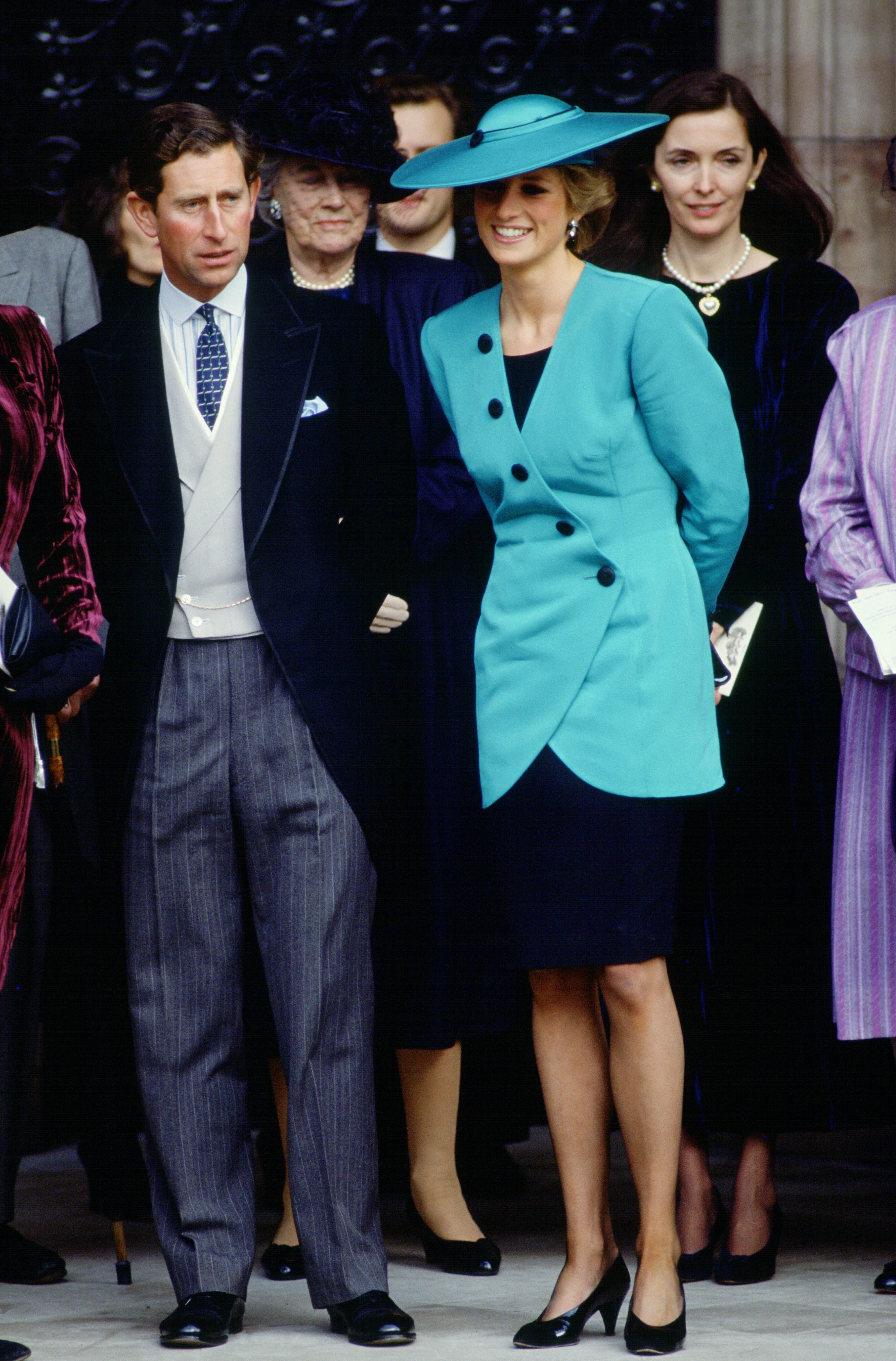 Prince Charles and Princess Diana in 1988   Source: Getty Images