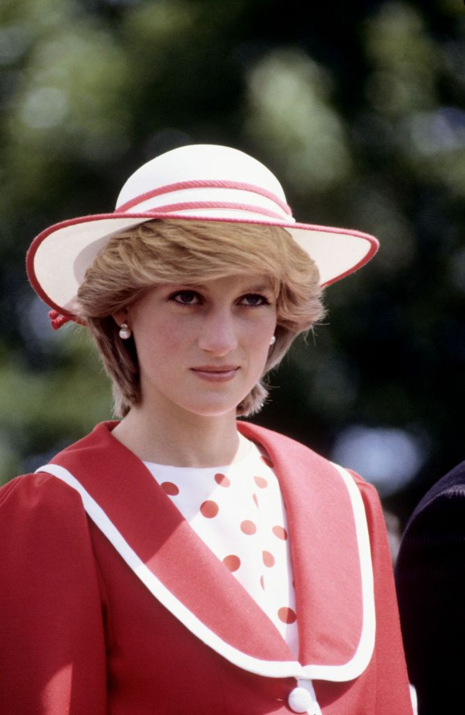 Diana Princess of Wales at St.John's, Newfoundland in Canada on June 23, 1983   Photo: Getty Images