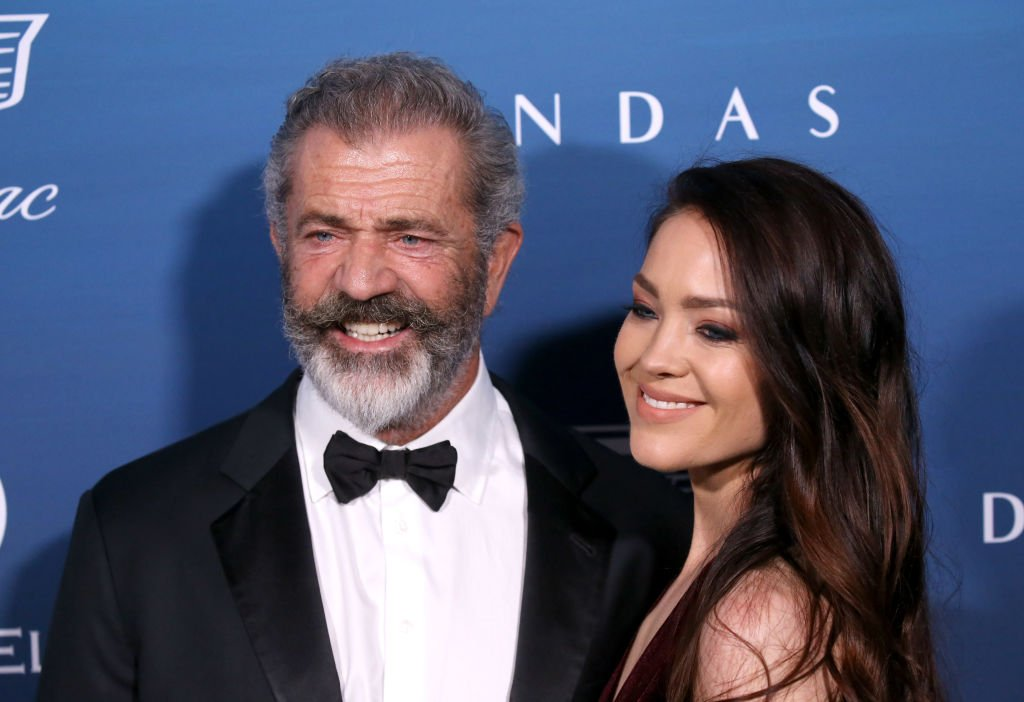 Mel Gibson and Rosalind Ross attend The Art Of Elysium's 12th Annual Celebration - Heaven held | Photo: Getty Images