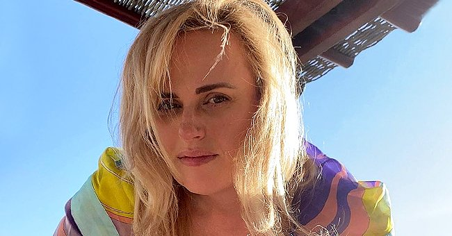 Rebel Wilson Looks Happy on a Beach While Enjoying View of Her Shirtless Boyfriend Jacob Busch