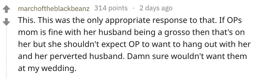 A Reddit user's comment on the post. | Source: Reddit