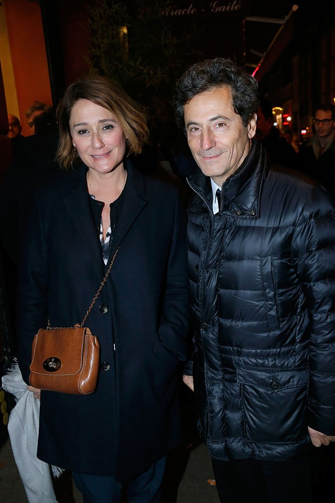 Daniela Lumbroso et Eric Ghebali | Photo : Getty Images