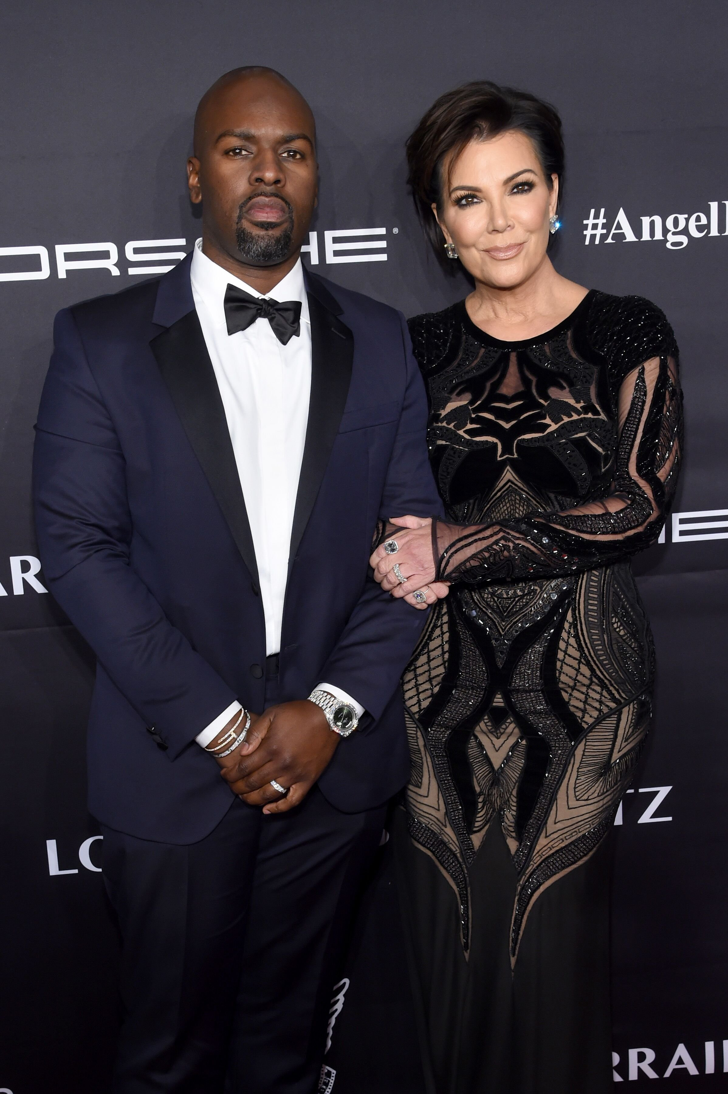 Kris Jenner and boyfriend Corey Gamble at the Angel Ball / Source: Getty Images