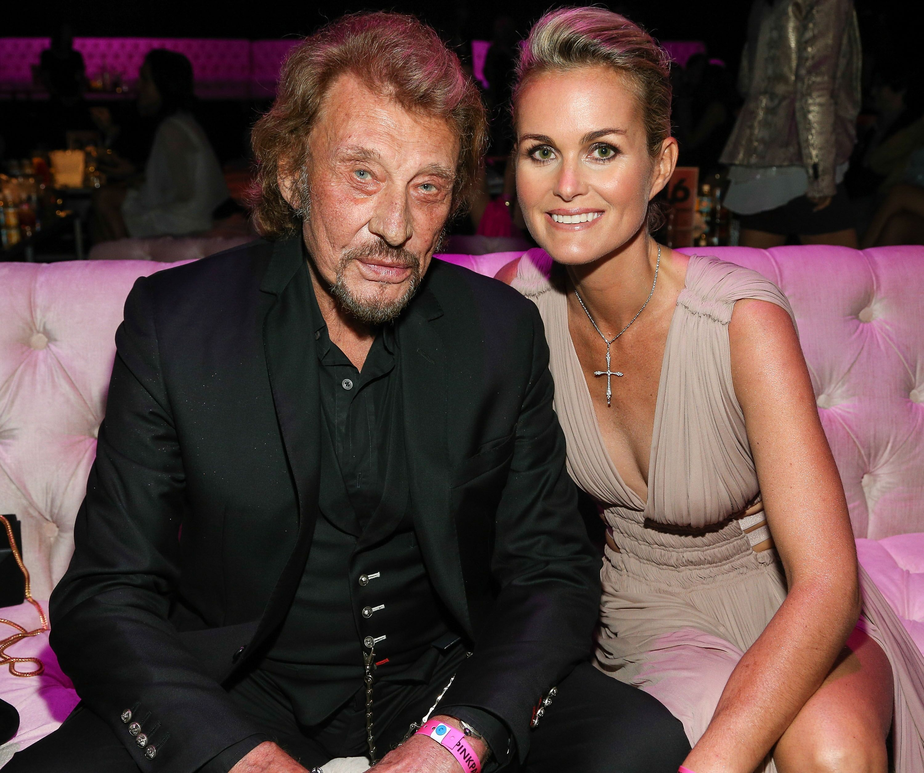 Johnny et Laeticia Hallyday. l Source : Getty Images