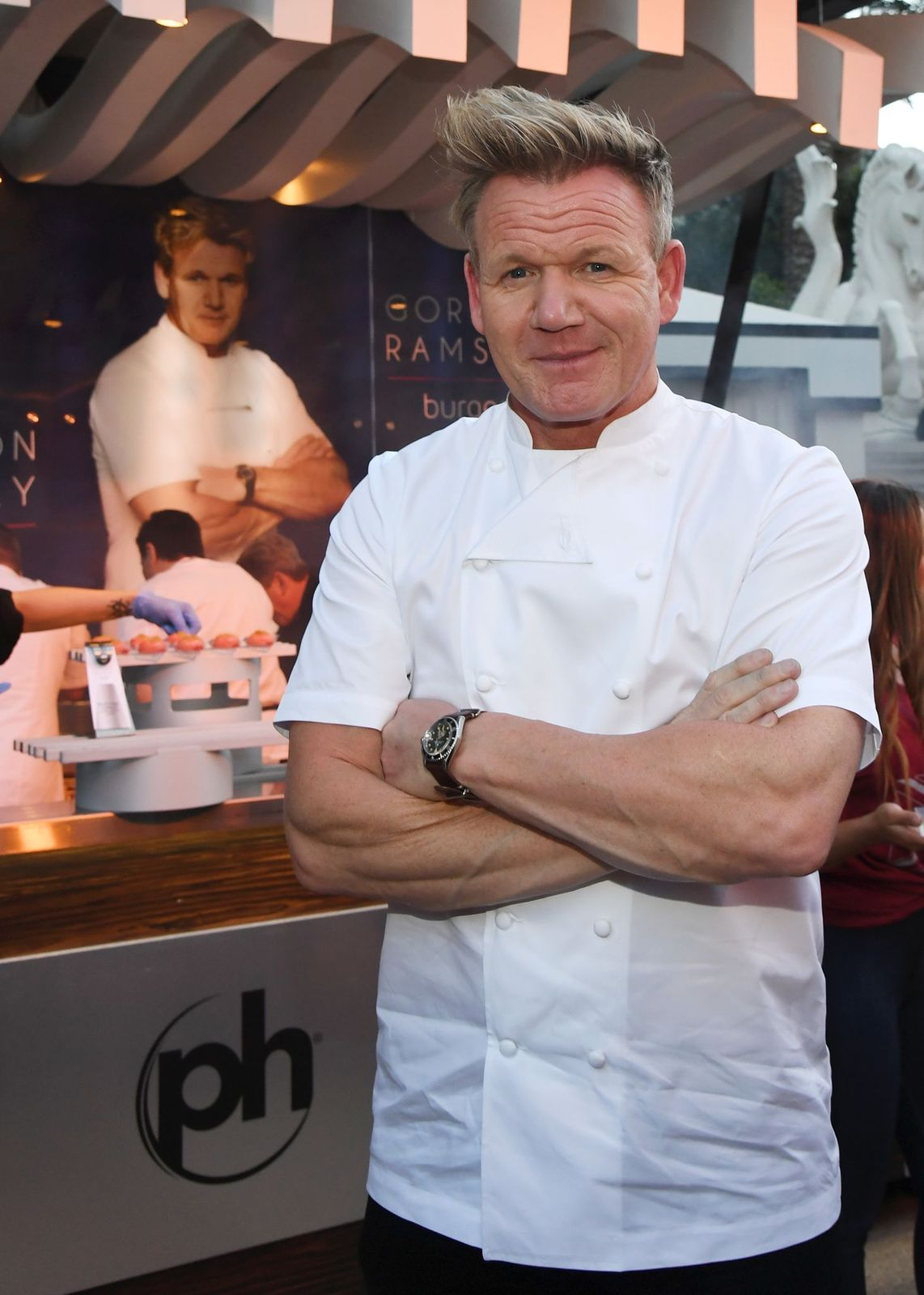Chef Gordon Ramsay at the 12th annual Vegas Uncork'd by Bon Appetit Grand Tasting event at Caesars Palace in Las Vegas, Nevada   Photo: Ethan Miller/Getty Images for Vegas Uncork'd by Bon Appetit