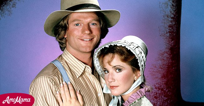 """Melissa Gilbert and Dean Butler on """"Little House on the Prairie""""   Photo: Getty Images"""