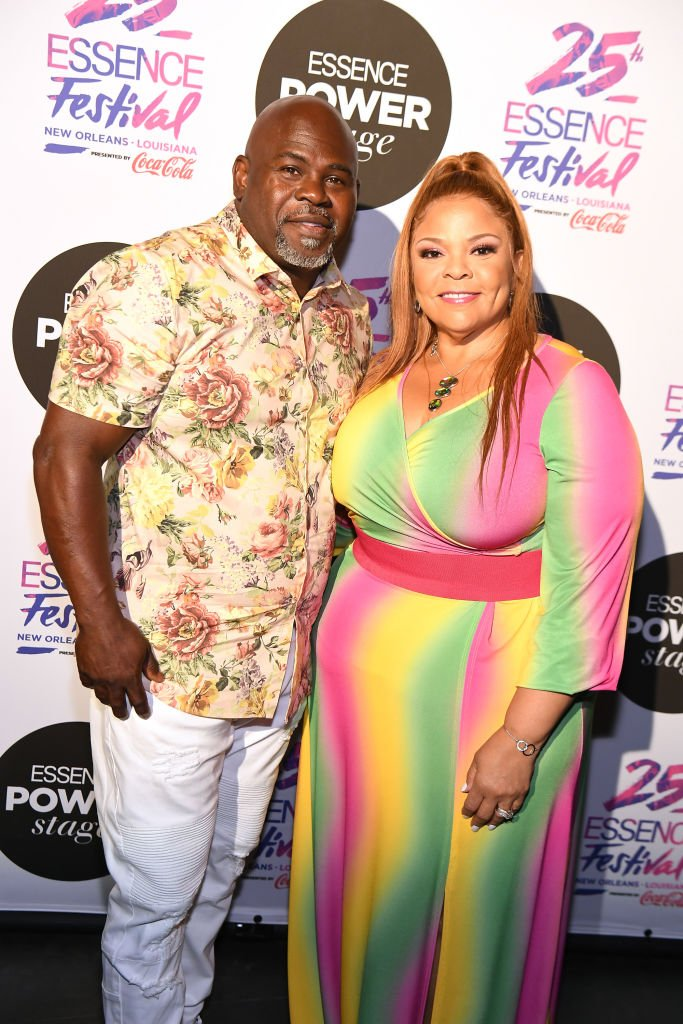 David Mann and Tamela Mann attends 2019 ESSENCE Festival Presented By Coca-Cola at Ernest N. Morial Convention Center on July 05, 2019 | Source: Getty Images