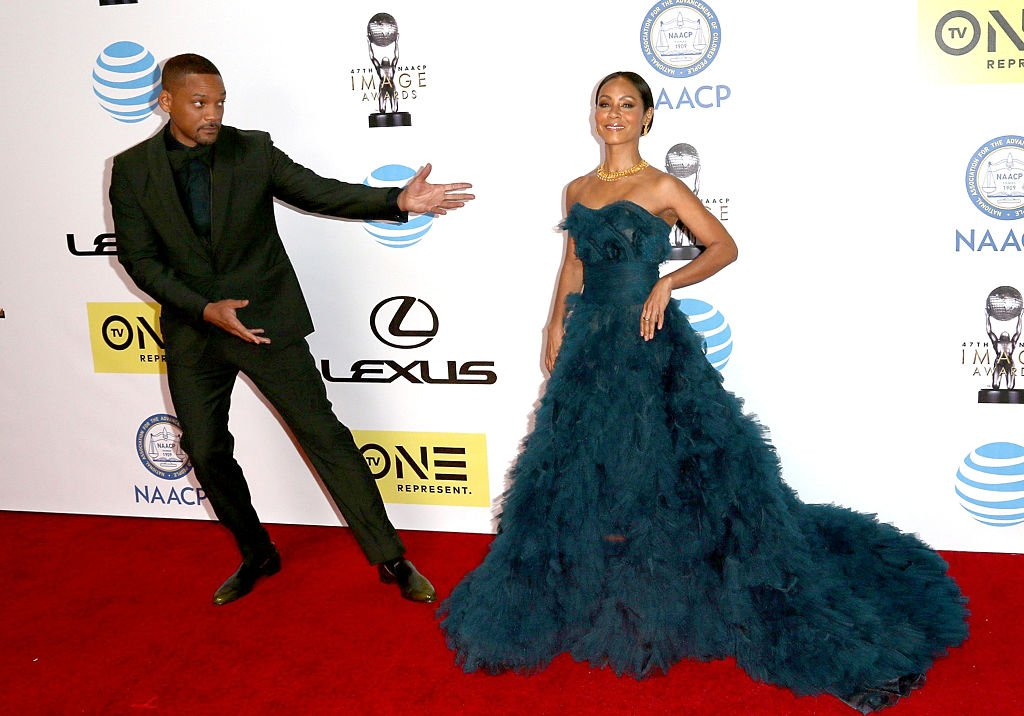 Will Smith and Jada Pinkett Smith attend the 47th NAACP Image Awards,2016  Photo: Getty Images