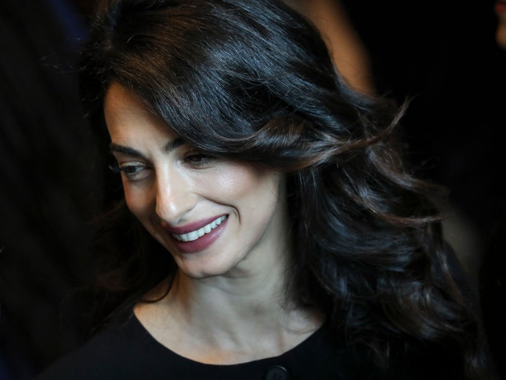 Amal Clooney attends a United Nations Security Council meeting at U.N. headquarters | Photo: Getty Images