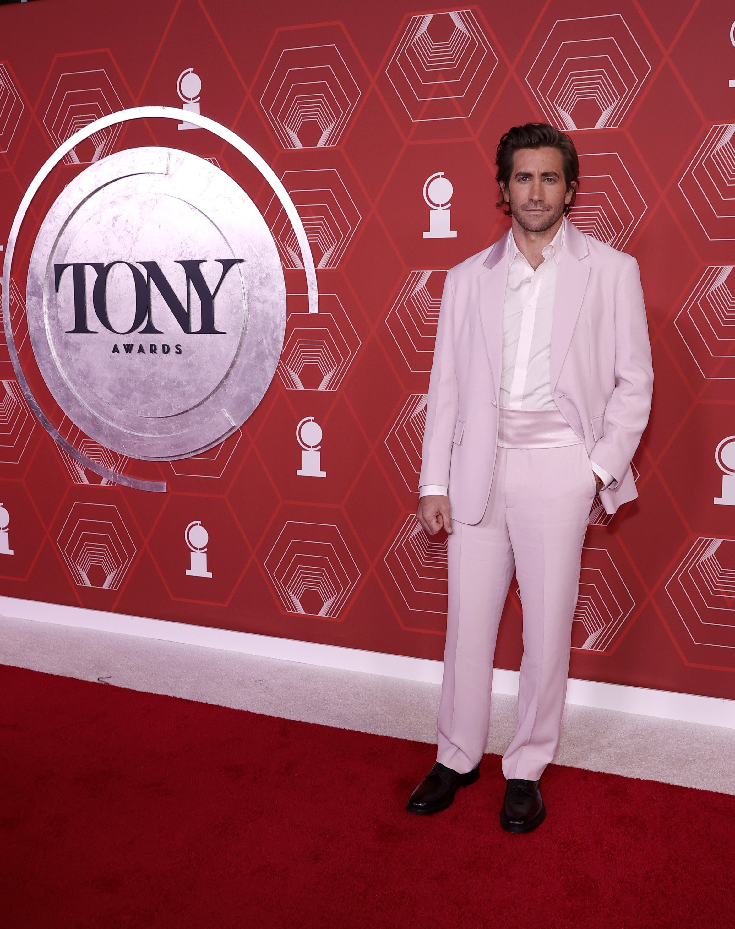 Jake Gyllenhaal attending the 74th Annual Tony Awards in New York, 2021 | Photo: Getty Images