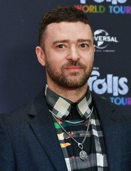"""Justin Timberlake at the photo session for the movie """"Trolls World Tour"""" at the Hotel Waldorf Astoria in February 2020.  Photo: Getty Images"""