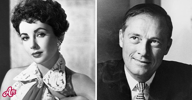 A picture of actress Elizabeth Taylor and Hilton heir, Conrad Hilton   Photo: Getty Images