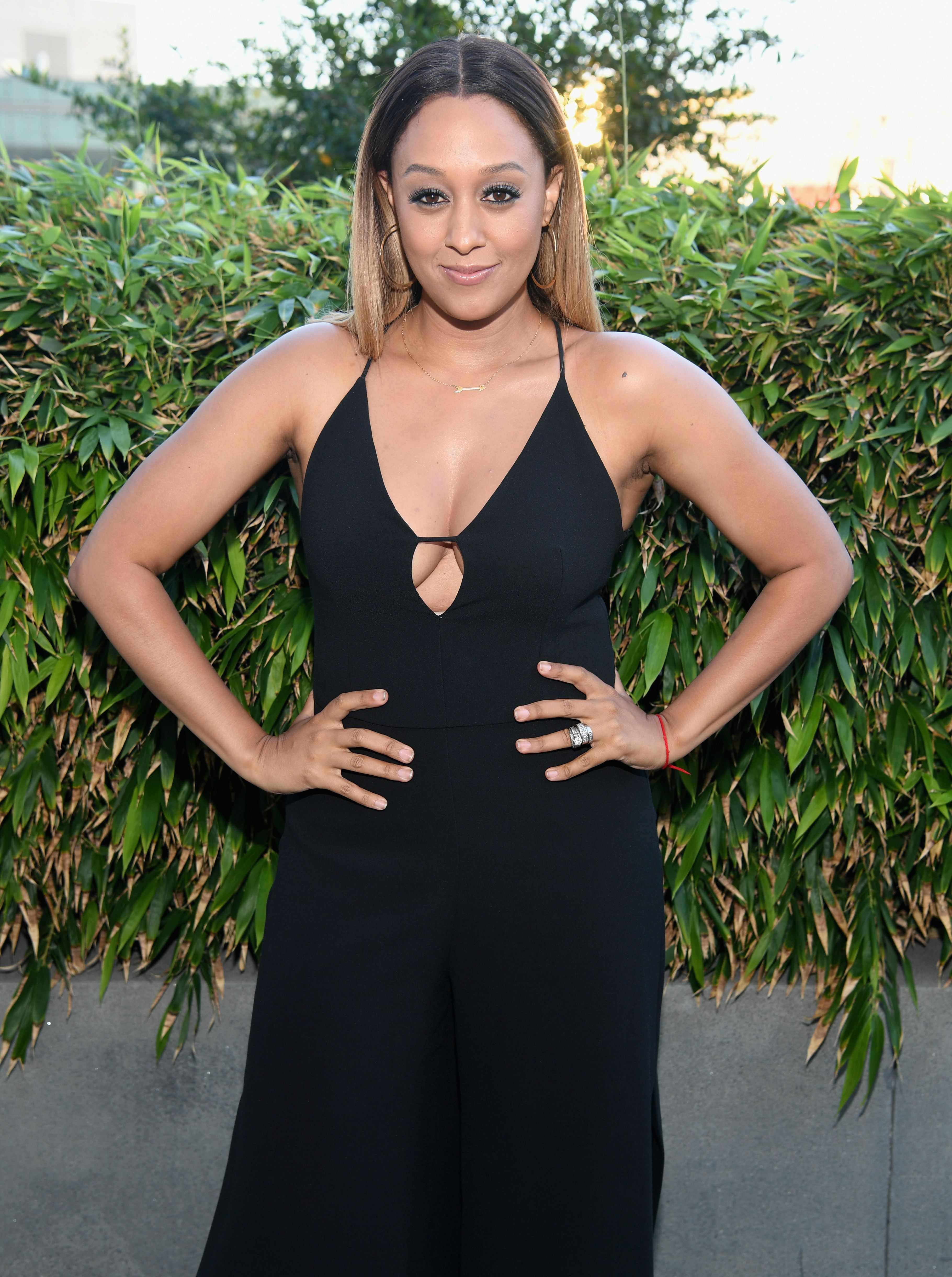 Tia Mowry attends the ABFF Winners Reception and VIP Celebration in honor of the winning filmmakers and artists from the 2016 American Black Film Festival during the 2016 BET Experience at the JW Marriott Rooftop Pool on June 24, 2016 in Los Angeles, California. | Source: Getty Images