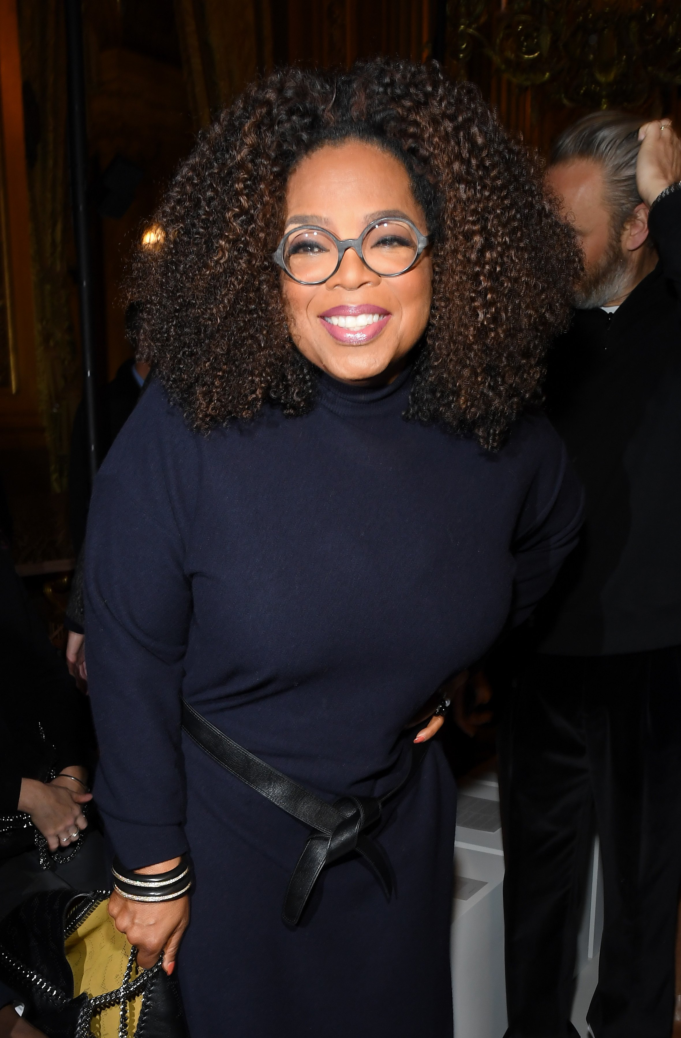 Oprah Winfrey attends the Stella McCartney show as part of the Paris Fashion Week Womenswear Fall/Winter 2019/2020 on March 04, 2019, in Paris, France. | Source: Getty Images.