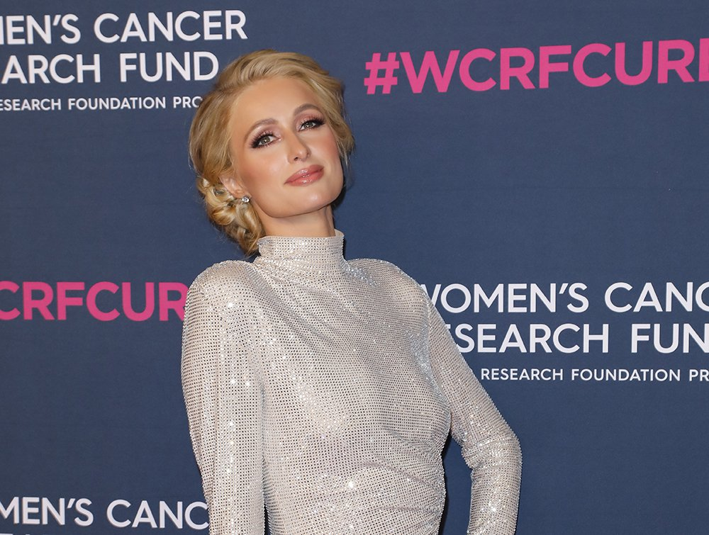Paris Hilton attending The Women's Cancer Research Fund's Unforgettable Evening at Beverly Wilshire in Beverly Hills, California in February 2020. I Image: Getty Images.