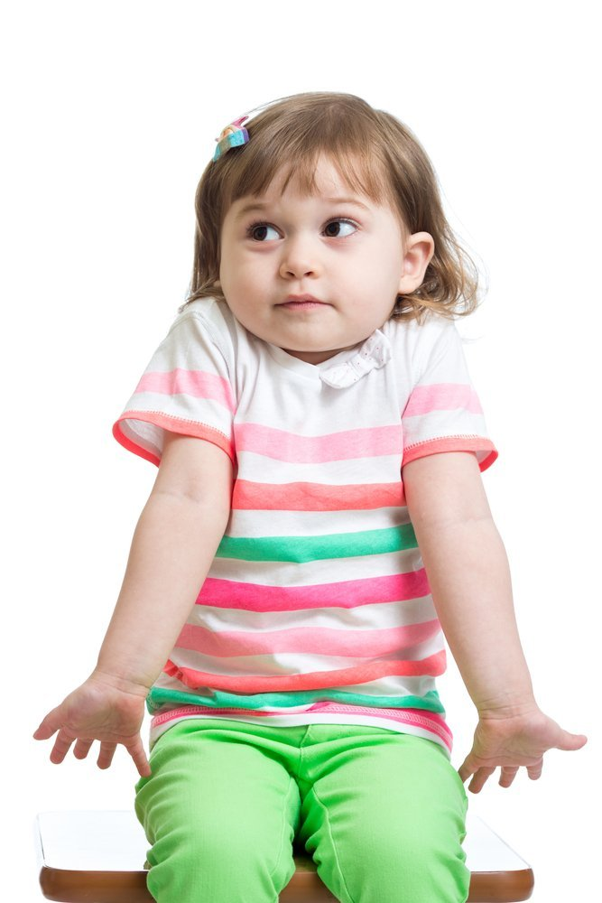 Une petite fille perplexe | Photo: Shutterstock