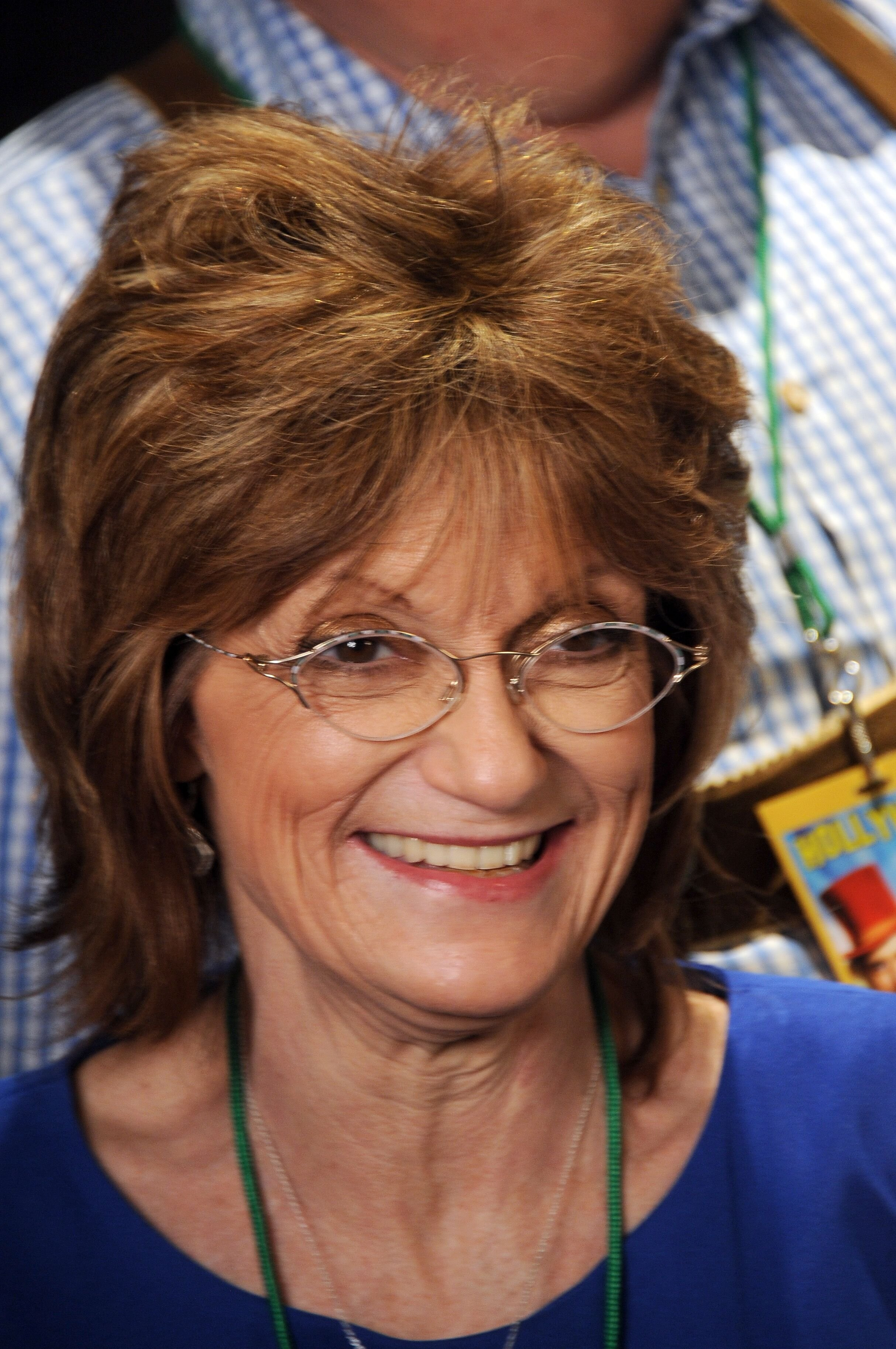 Actress Denise Nickerson at the The Hollywood Show held at Westin Los Angeles Airport on July 19, 2014 in Los Angeles, California. | Getty Images