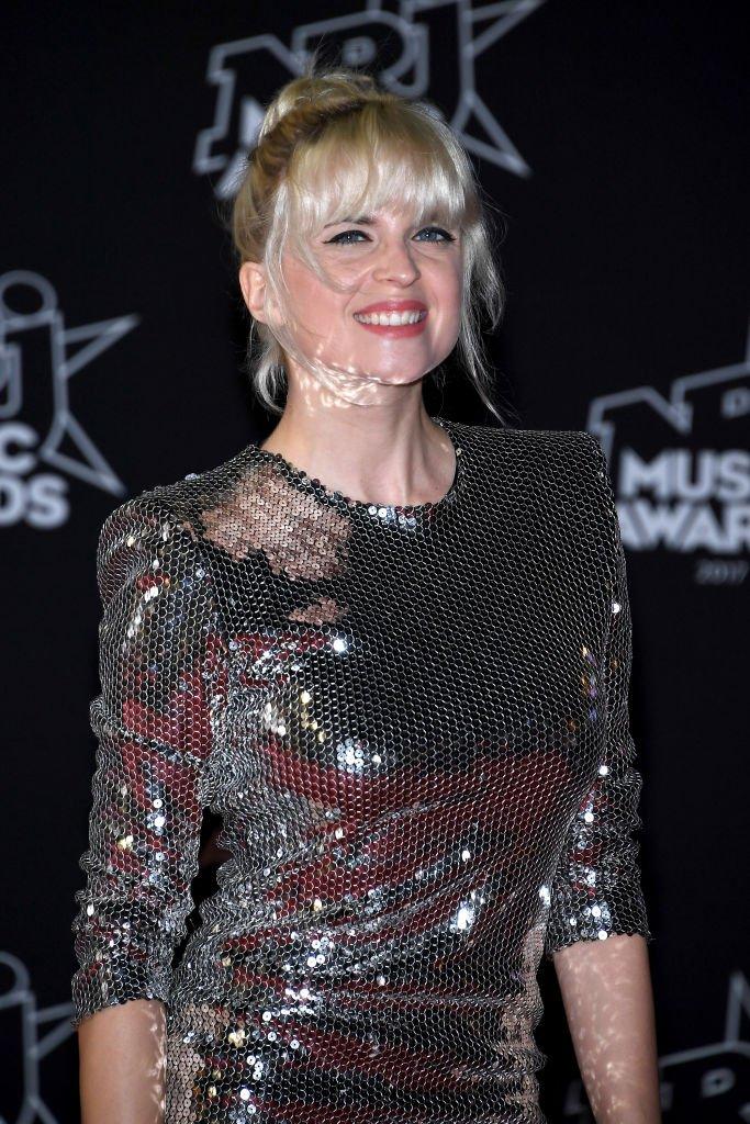 Cécile Cassel aux NRJ Music Awards en 2017. l Source : Getty Images