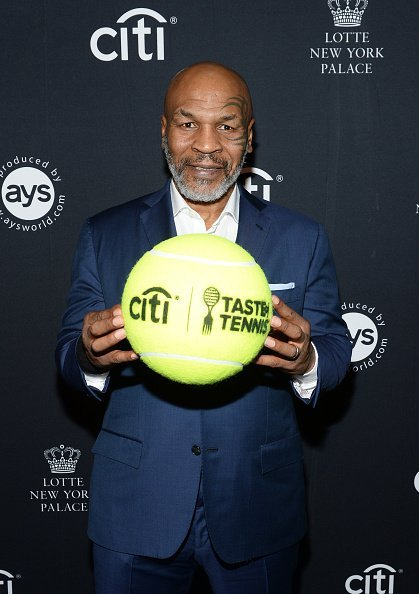 Mike Tyson attends the Citi Taste Of Tennis | Image: Getty Images