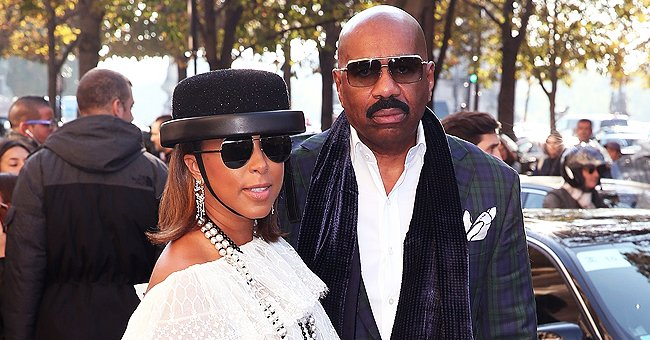 Steve Harvey's Wife Marjorie Sparks Questions as She Wears Oxygen Mask While Working Out