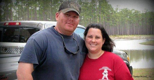 Trainer und seine Frau tödlich unter Strom gesetzt, beim Versuch, eine Tafel zu installieren
