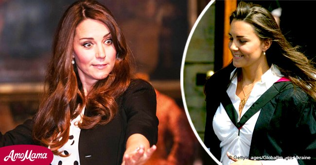 Kate Middleton 'flashed her bottom' at boys during her college years, a resurfaced video says