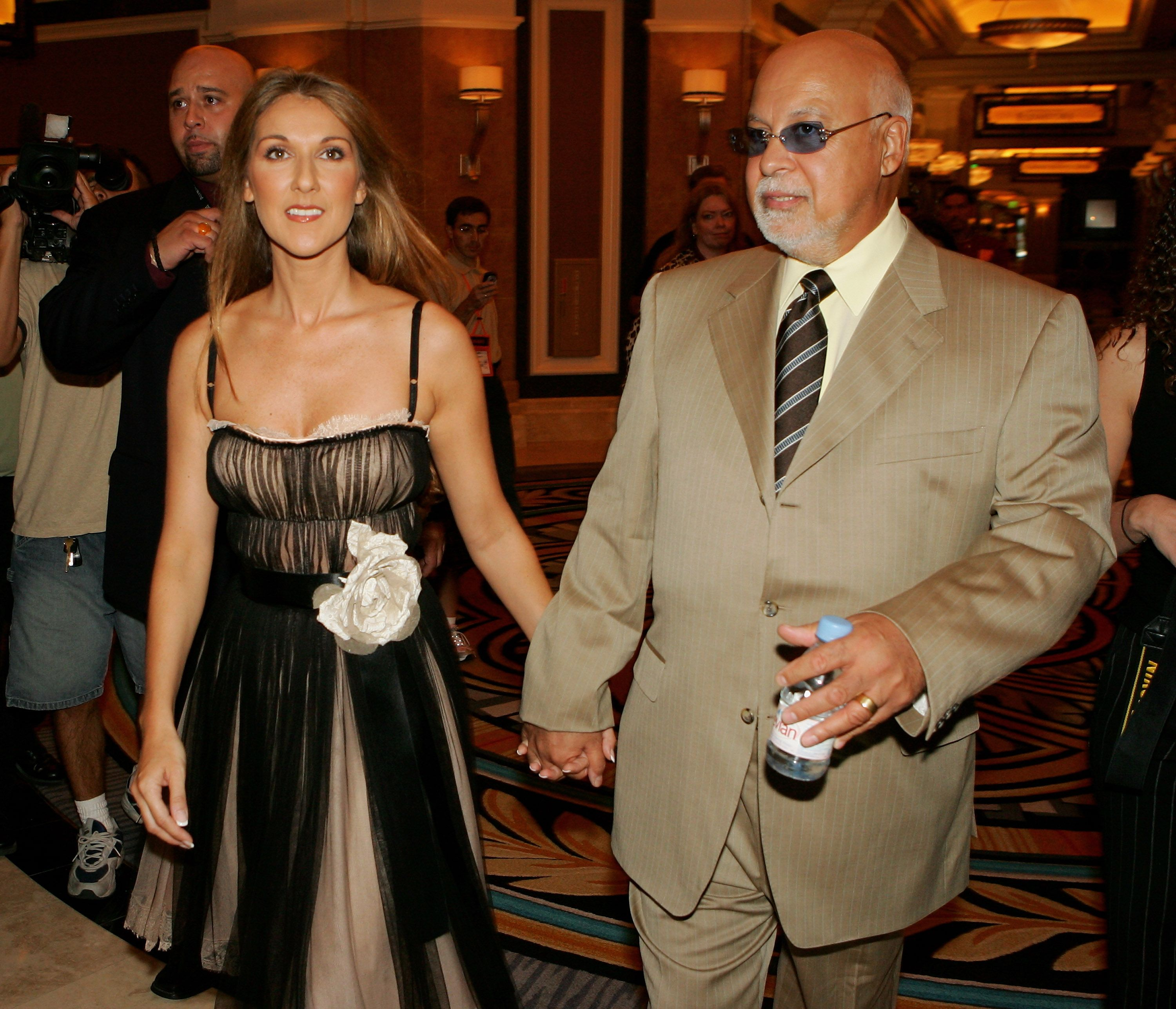 Céline Dion et son mari René Angelil | Photo : Getty Images