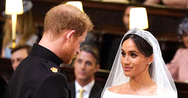 Meghan Markle & Prince Harry Mark 1st Anniversary with New Wedding Pics
