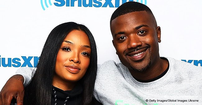 Ray J's wife Princess Love shares adorable video of their curly-haired baby standing in her cot