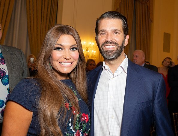 Kimberly Guilfoyle and Donald Trump Jr. attend Zang Toi 30th anniversary fashion show during New York SS20 fashion week at 3 West Club | Photo: Getty Images