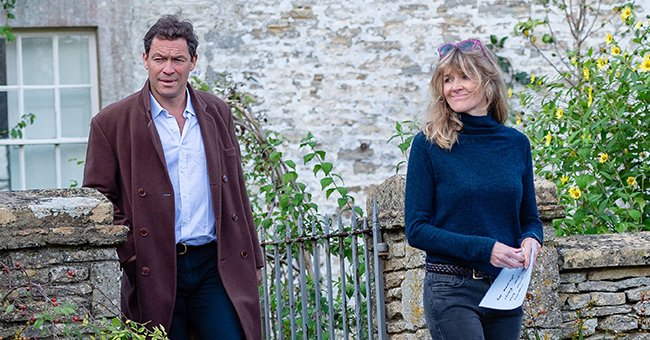 Here's How Dominic West Proved He's Still with His Wife after Controversial PDA with Lily James