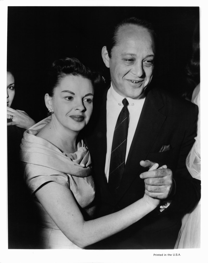 Judy Garland and Sidney Luft, circa 1952   Photo: Getty Images