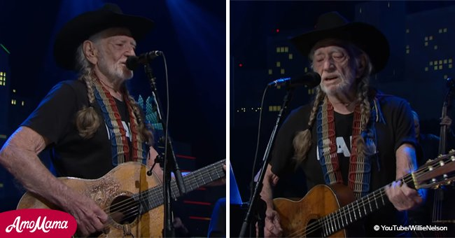 Willie Nelson returns to 'ACL' singing 'Funny How Time Slips Away' with a stunning guitar solo