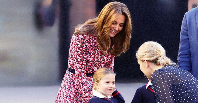 Kate Middleton portait une robe à $264 pour le premier jour d'école de la princesse Charlotte