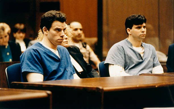Trial of brothers Lyle & Erik Menendez of Parricides | Photo: Getty Images