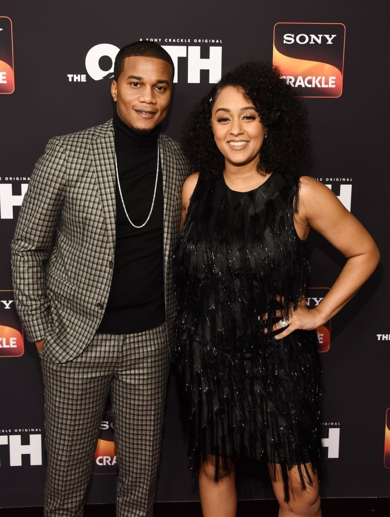 Cory Hardrict and Tia Mowry Paloma in Los Angeles, California | Photo: Getty Images