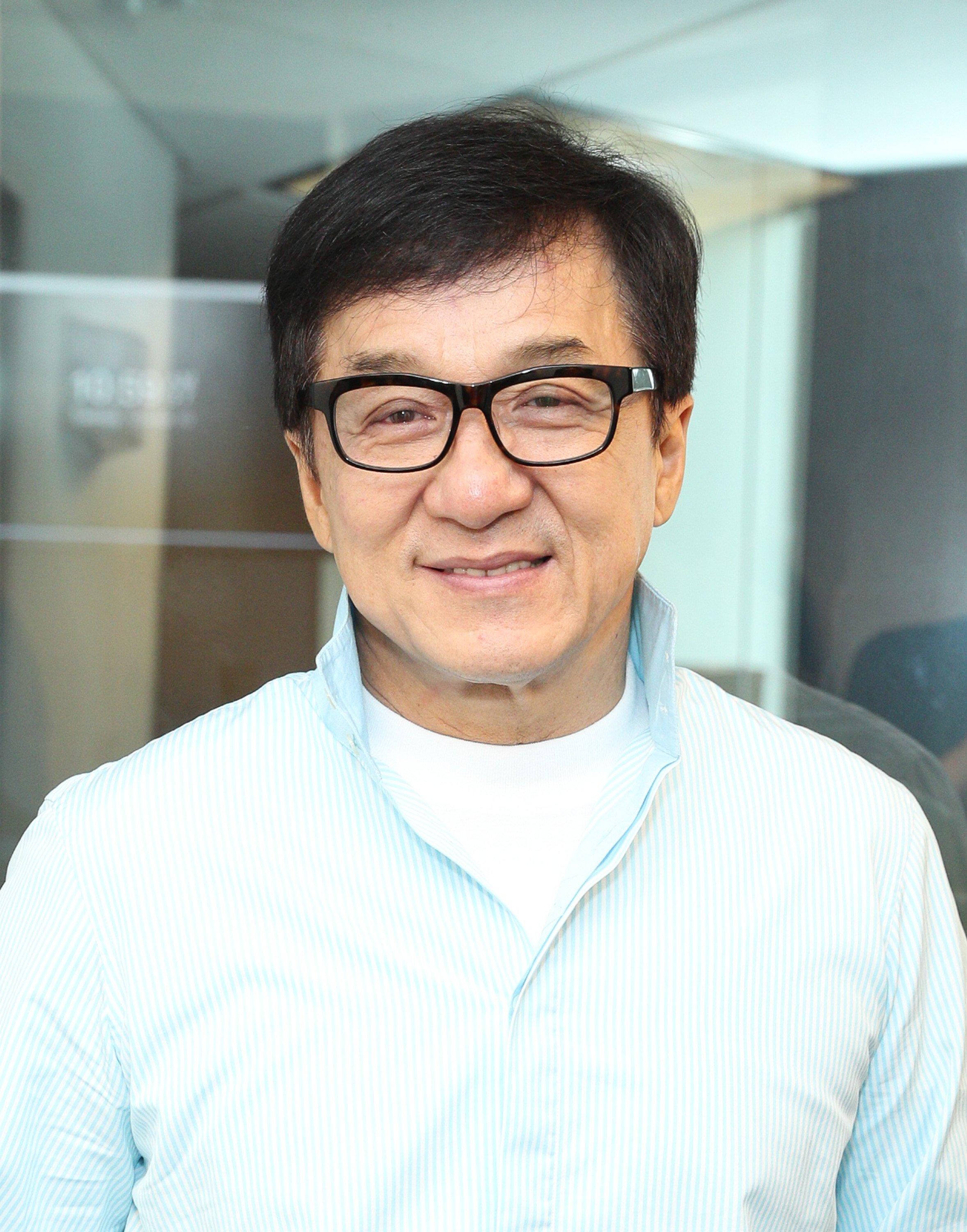 Jackie Chan visits SiriusXM Studios on October 10, 2017 in New York City |  Photo: Getty Images