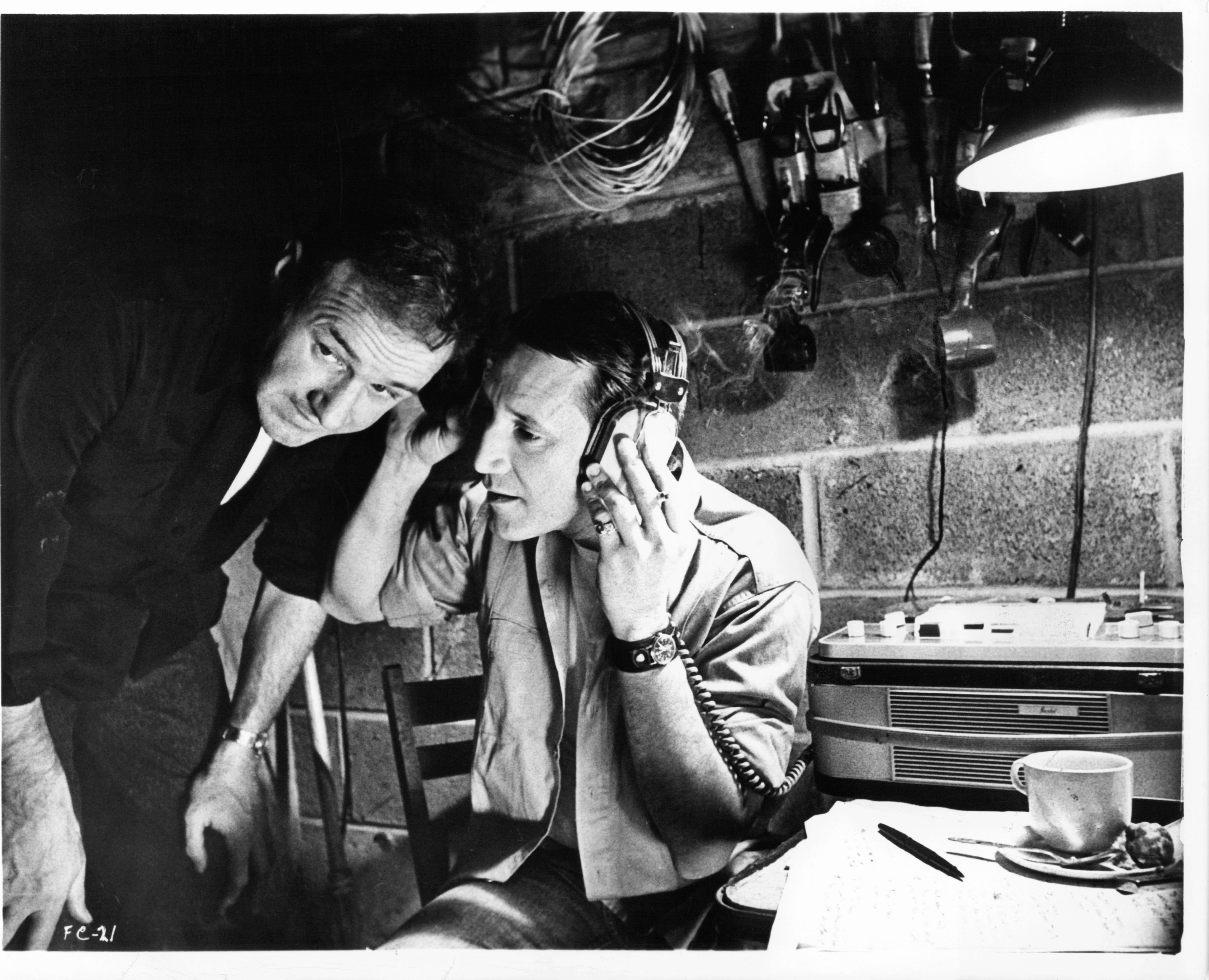 Gene Hackman and Roy Scheider in a scene from the 1971 film 'The French Connection' | Source: Getty Images