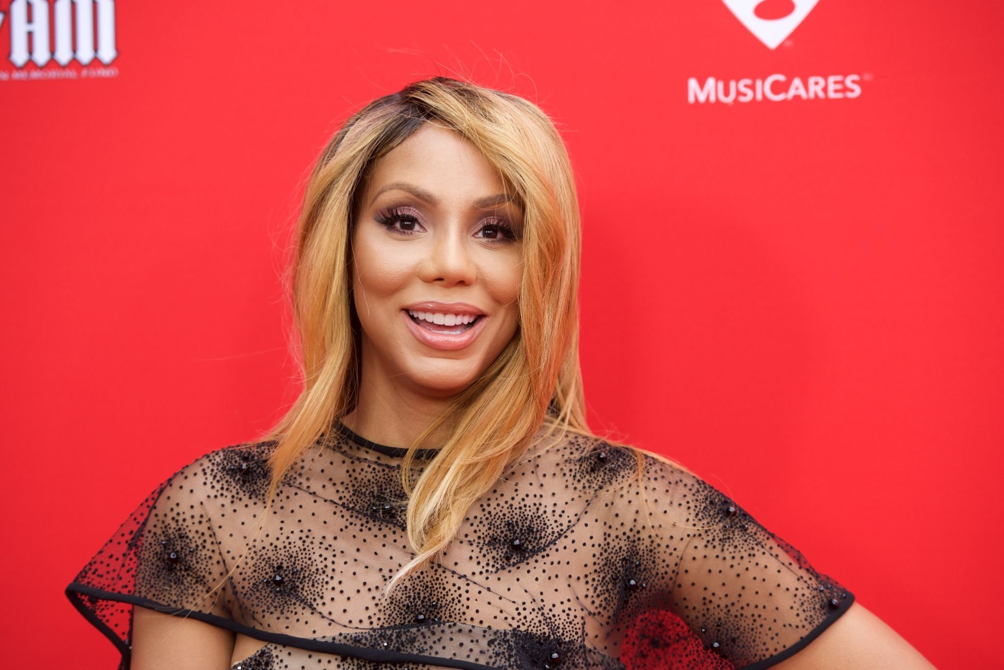 Tamar Braxton attends the 12th Annual MusiCares MAP Fund Tribute Concert at the Novo by Microsoft on May 19, 2016 | Source: Getty Images/GlobalImagesUkraine