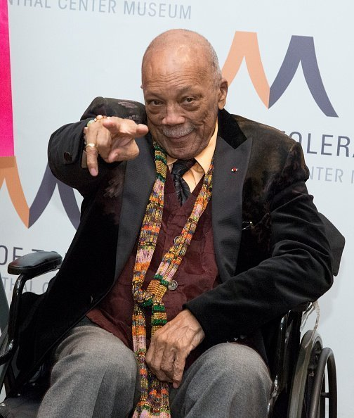 Quincy Jones at Museum Of Tolerance on December 05, 2019.   Photo: Getty Images