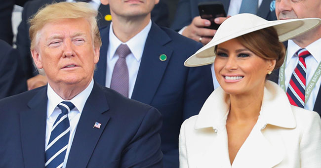 Melania Trump Looks Chic at D-Day 75th Anniversary Commemoration