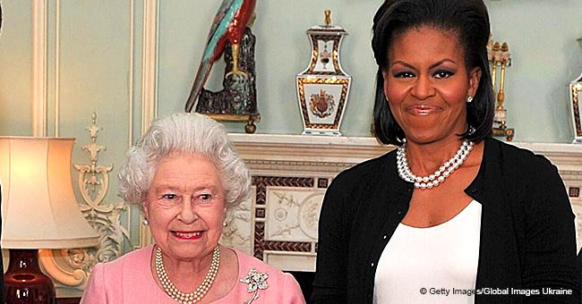 Michelle Obama Accidentally Broke Royal Protocol with Queen Elizabeth