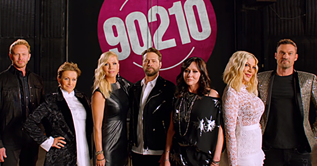 Tori Spelling Reunites with 'Beverly Hills, 90210' Stars in Reboot's Very First Promo