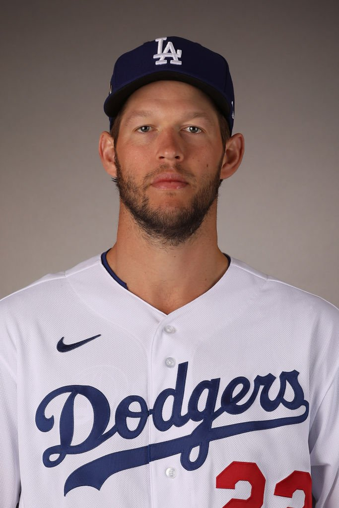 Pitcher Clayton Kershaw #22 of the Los Angeles Dodgers poses for a portrait on February 20, 2020 in Glendale, Arizona | Photo: Getty Images