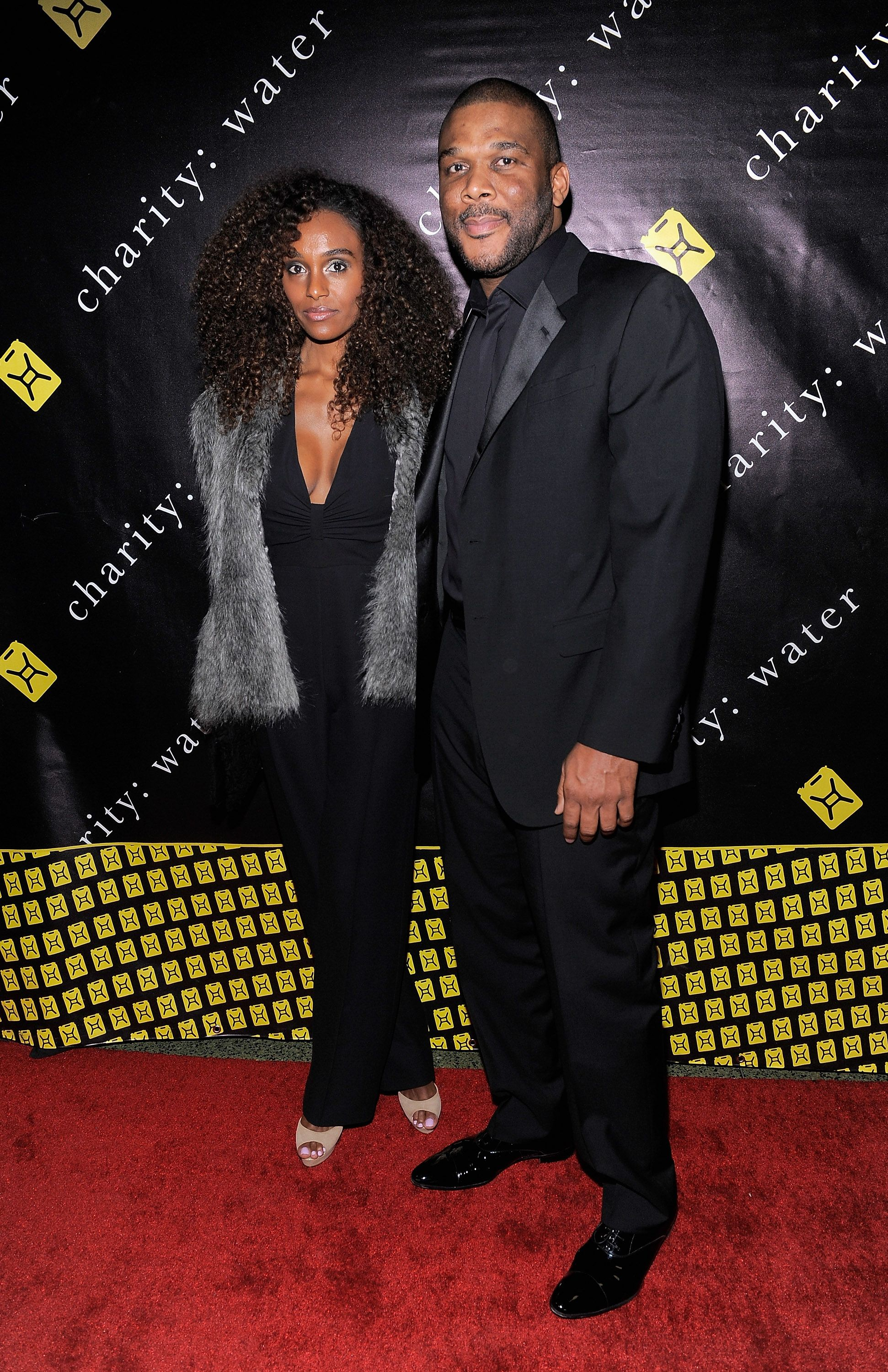 Gelila Bekele and writer/director Tyler Perry at the 6th Annual Charity Ball in 2011 in New York City | Source; Getty Images
