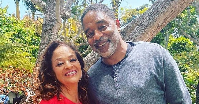Debbie Allen Snuggles up to Her 'Amazing' Husband of 37 Years & Looks Stunning In a Red Outfit