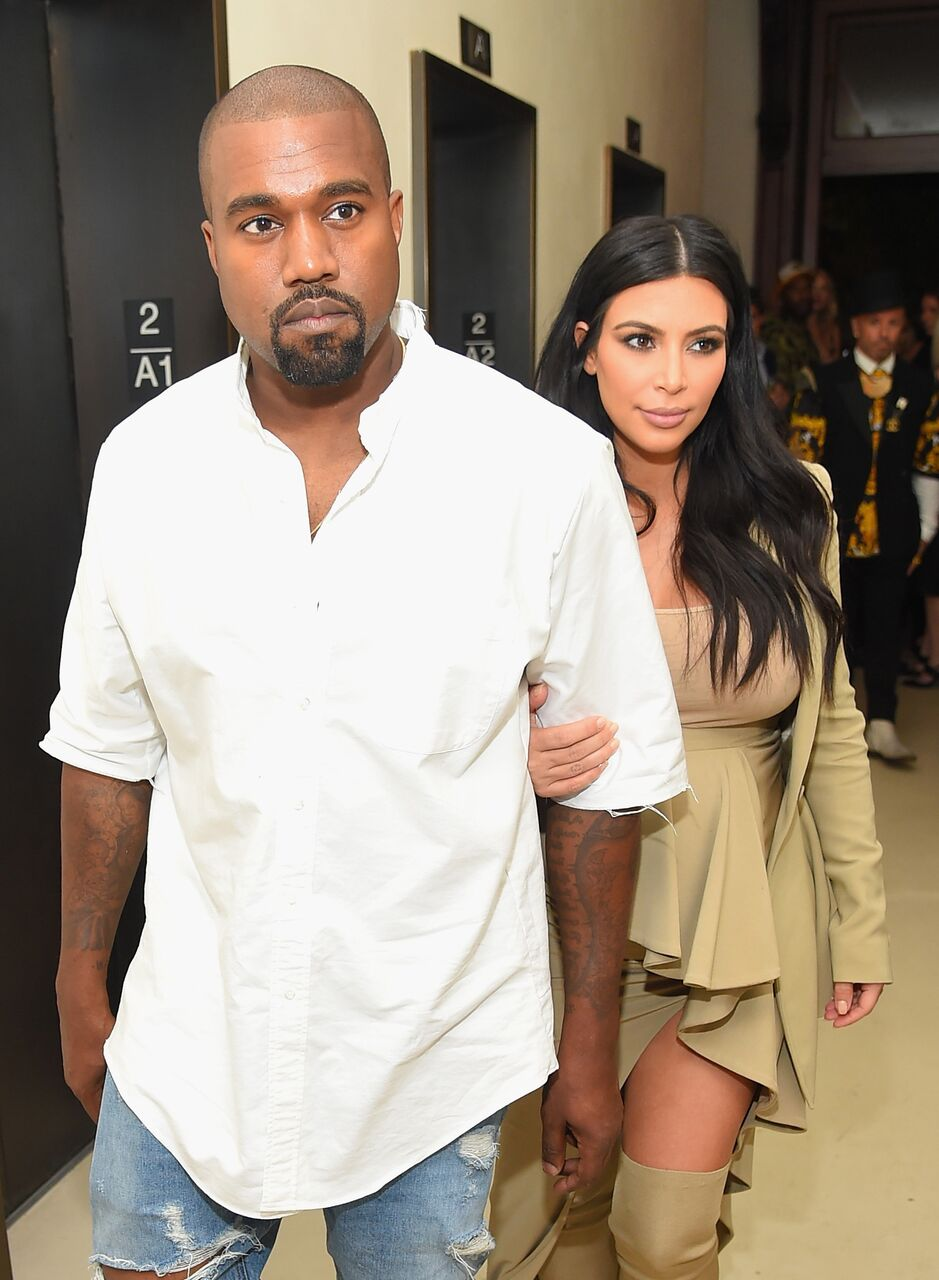 Kanye West and Kim Kardashian-West attend the Rihanna Party at The New York Edition on September 10, 2015 in New York City | Photo: Getty Images